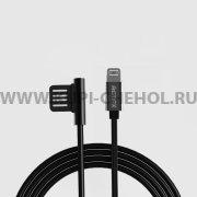 Кабель USB-iP Remax RC-054i Symmetric Black 1м