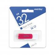 Флеш Smartbuy Diamond 32Gb Pink USB 2.0