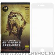 Защитное стекло Apple iPhone 6/6S WK Kingkong 5D White 0.25mm