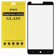 Защитное стекло ZTE ZMAX/Z981 Aiwo Full Screen черное 0.33mm