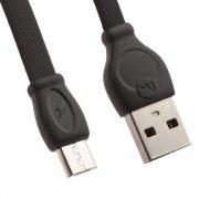 Кабель USB-Micro WK WDC-023 Black 1m