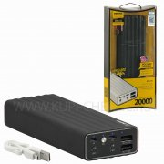 Power Bank 20000 mAh Remax RP-V20 Vanguard чёрный