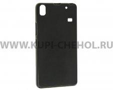 Чехол-накладка Lenovo S8 X черный матовый 0.8mm