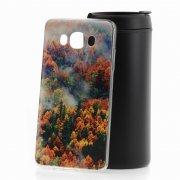 Чехол-накладка Samsung Galaxy J7 2016 Лес