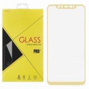 Защитное стекло Xiaomi Mi 8 Glass Pro Full Screen золотое 0.33mm