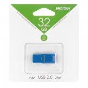 Флеш Smartbuy Funky series 32Gb Blue USB 2.0