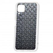 Чехол-накладка Huawei P40 Lite Kruche Print Сталь