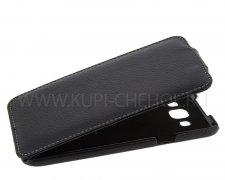 Чехол флип Samsung E700f Galaxy E7 UpCase чёрный