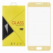 Защитное стекло Asus Zenfone 4 Max ZC554KL Glass Pro Full Screen золотое 0.33mm