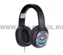 Наушники HOCO W1 Headphone Son of the Devil Black