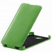 Чехол  откидной  Alcatel  6034  Angell Case  зелен