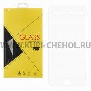 Защитное стекло Xiaomi Mi Note 3 Glass Pro Full Screen белое 0.33mm