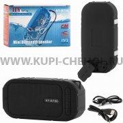 Колонка универсальная Bluetooth HY-BT06 чёрная