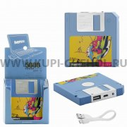 Power Bank 5000 mAh Remax Floppy RPP-17 Blue