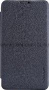 Чехол книжка NOKIA 530 Lumia Nillkin Sparkle чёрный