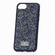 Чехол-накладка Apple iPhone 7 Plus Swarovski Кристаллы Blue/Silver