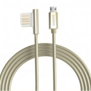 Кабель USB-Micro Remax Symmetric Gold 1m