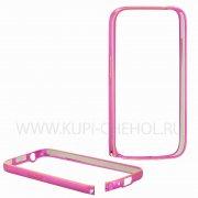 Чехол-бампер Samsung Galaxy Star Advance G350e 0.7мм 7721 розовый