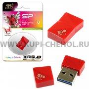 Флеш Silicon Jewel J08 8GB Red