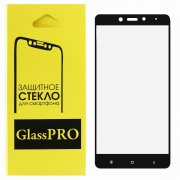 Защитное стекло Xiaomi Redmi Note 4/4 Pro Glass Pro Full Glue черное 0.33mm