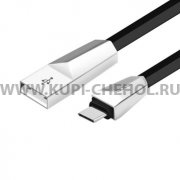 USB - Type-C кабель Hoco X4 Zinc Alloy Black 1.2m