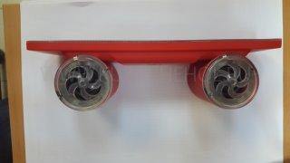 Колонка универсальная Speaker BT03 LED Bluetooth красная