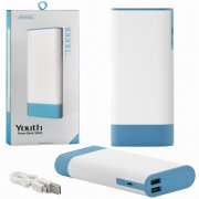 Power Bank 10000 mAh Remax Youth RPL-19 White/Blue