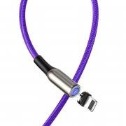 Кабель USB-iP Baseus Zinc Magnetic Purple 1m 2A