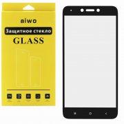 Защитное стекло Xiaomi Redmi Note 4X Aiwo Full Screen черное 0.33mm