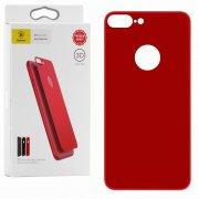 Защитное стекло Apple iPhone 7 Plus Baseus Silk 3D Red заднее