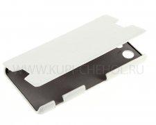 Чехол  откид  Sony  Z3  mini  UpCase  бел  бок