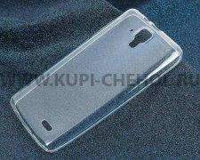 Чехол-накладка Lenovo A536 iBox Crystal прозрачный глянцевый 0.5mm