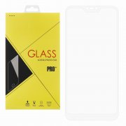 Защитное стекло Xiaomi Redmi 6 Pro Glass Pro Full Screen белое 0.33mm