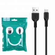 Кабель USB-Type-C Hoco X13 Black 3м