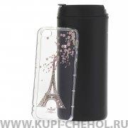 Чехол-накладка Apple iPhone 5/5S/SE Муза Париж