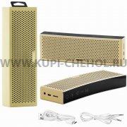 Колонка универсальная Bluetooth Remax RB-M20 Gold