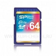 SD 64Gb class 10 к/п Silicon XC