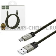 USB - micro USB кабель HOCO U27 Gray 1.2m