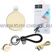 Флеш Hoco UD1 Flash Drive 128Gb Apple Lightning черный