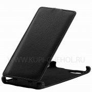 Чехол  откид  Lenovo  K920  Derbi  чёрн