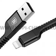 USB Apple iPhone 5 Baseus CALZJ-A01 Black 1м