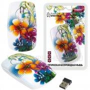 Мышка компьютерная б/п SmartBuy 327AG принт Цветы