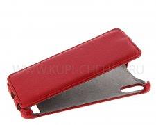 Чехол флип Lenovo A6000 Derbi красный