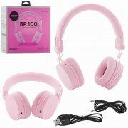 Bluetooth наушники WK BP100 Pink