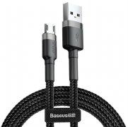 Кабель USB-Micro Baseus Cafule Gray/Black 50cm