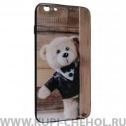 Чехол-накладка iPhone 6 Plus/6S Plus Мишка в смокинге
