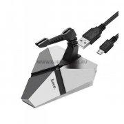 ХАБ USB-разветвитель 3 порта Hoco HB2 Scorpio Silver  УЦЕНЕН