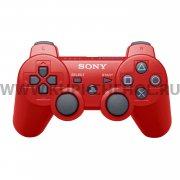Джойстик Sony Dualshock 3 красный