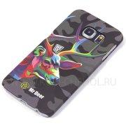 Чехол пластиковый Samsung Galaxy S6 Edge G925 Mr.Deer 8753 фосфор