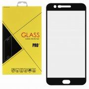 Защитное стекло LG K10 2017 Glass Pro Full Screen чёрное 0.33mm
